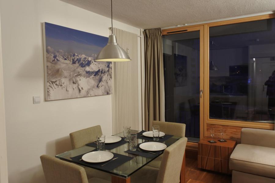 Location au ski Studio coin montagne 4 personnes (052R) - Résidence Home Club - Tignes - Séjour