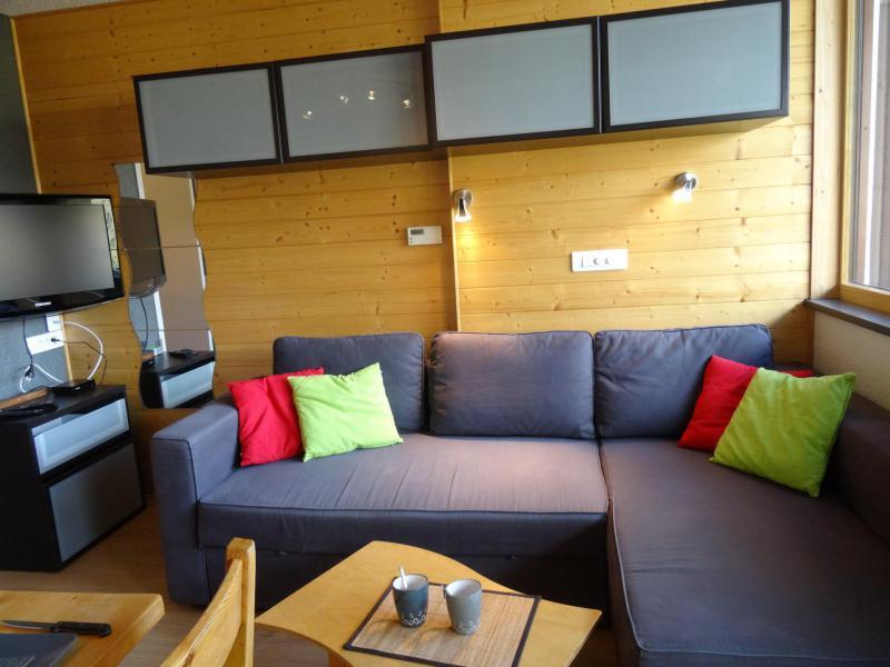 Location au ski Studio coin montagne 4 personnes (164) - Résidence Home Club - Tignes - Séjour