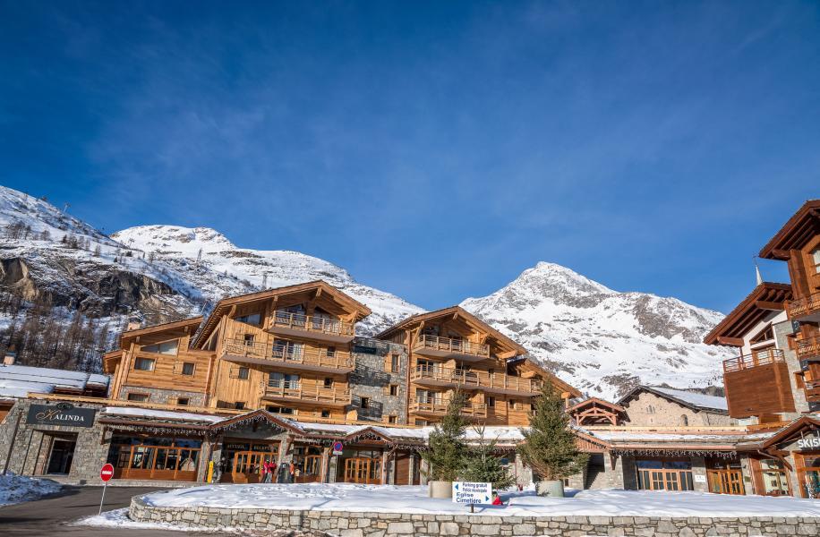 Location au ski Residence Kalinda Village - Tignes - Extérieur hiver