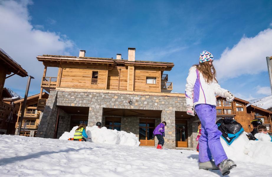 Location au ski Résidence Kalinda Village - Tignes - Extérieur hiver