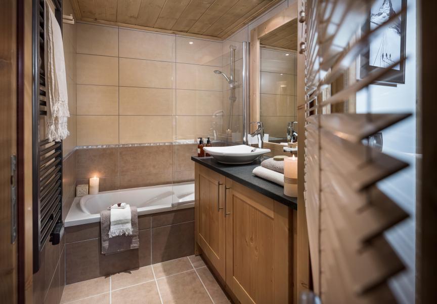 Skiverleih Résidence Kalinda Village - Tignes - Badezimmer