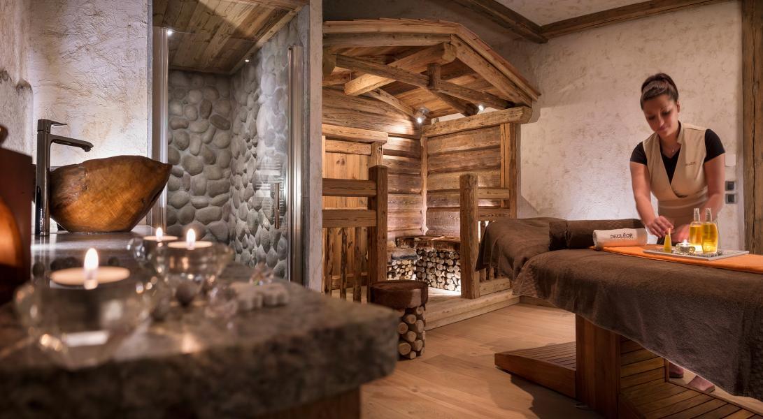 Location au ski Résidence Kalinda Village - Tignes - Massage