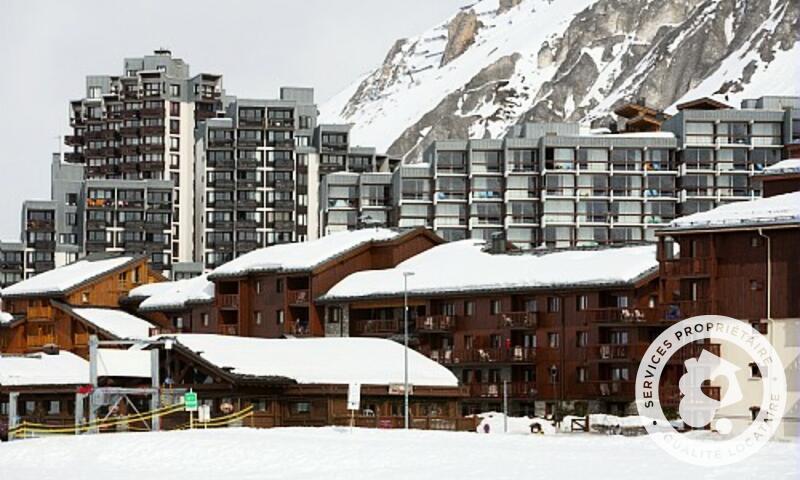 Аренда на лыжном курорте Résidence l'Ecrin des Neiges - Maeva Home - Tignes - зимой под открытым небом
