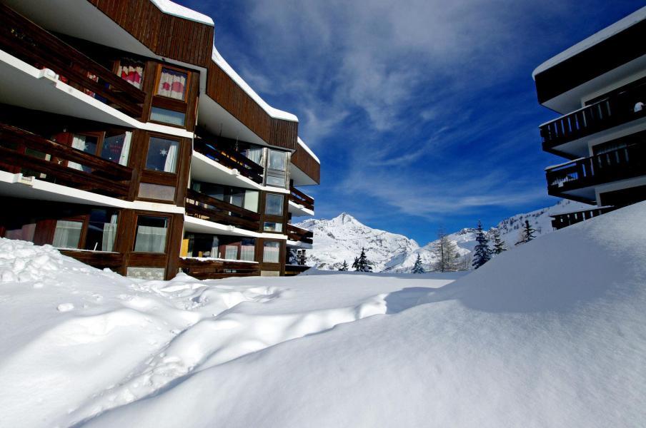 Skiverleih Résidence la Grande Casse - Tignes - Draußen im Winter