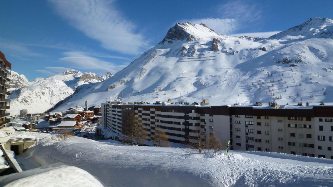 Skiverleih Résidence le Bec Rouge - Tignes - Draußen im Winter