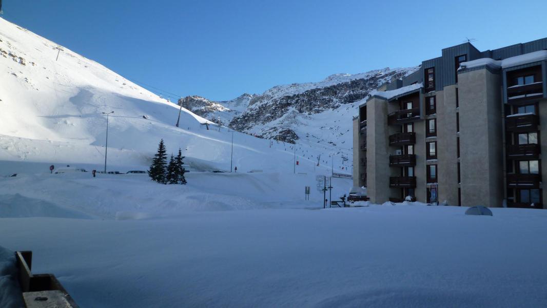 Location au ski Residence Le Grand Tichot B - Tignes - Extérieur hiver