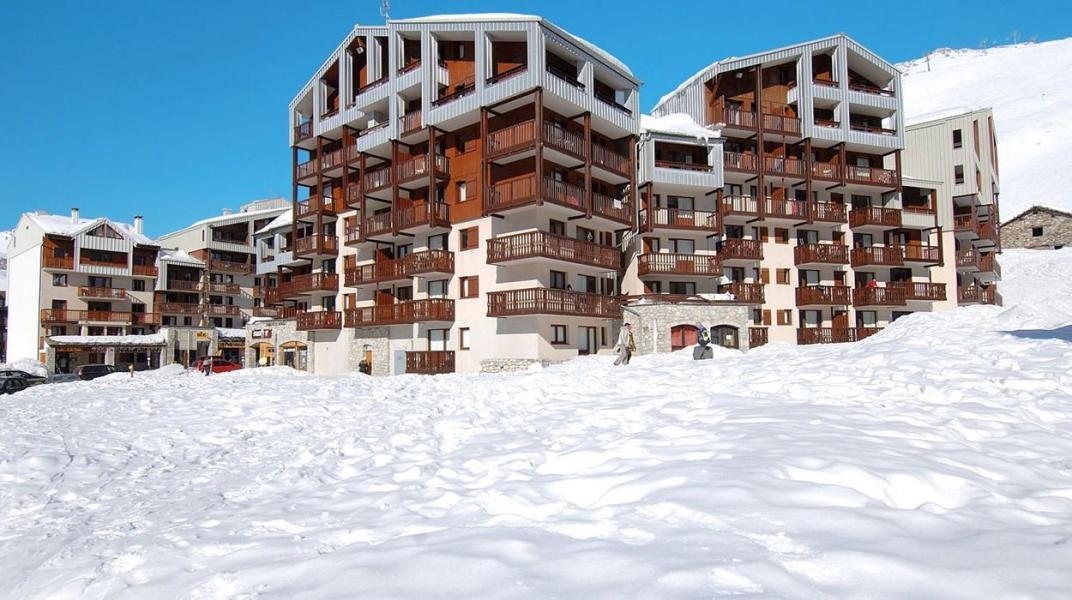 Location au ski Résidence le Hameau du Borsat - Tignes - Extérieur hiver