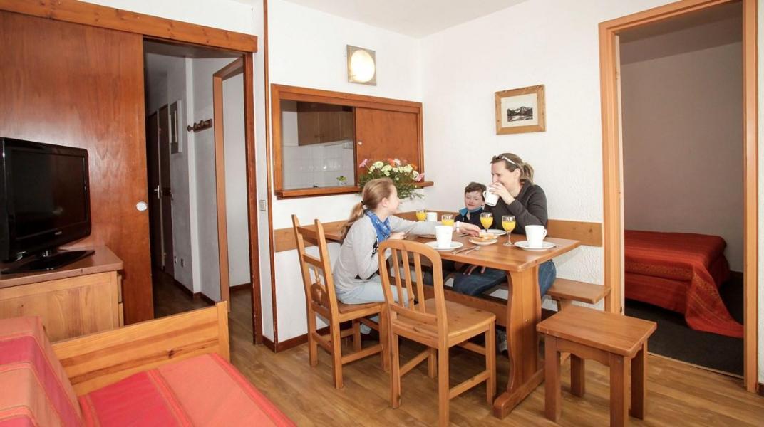 Location au ski Résidence le Hameau du Borsat - Tignes - Coin repas
