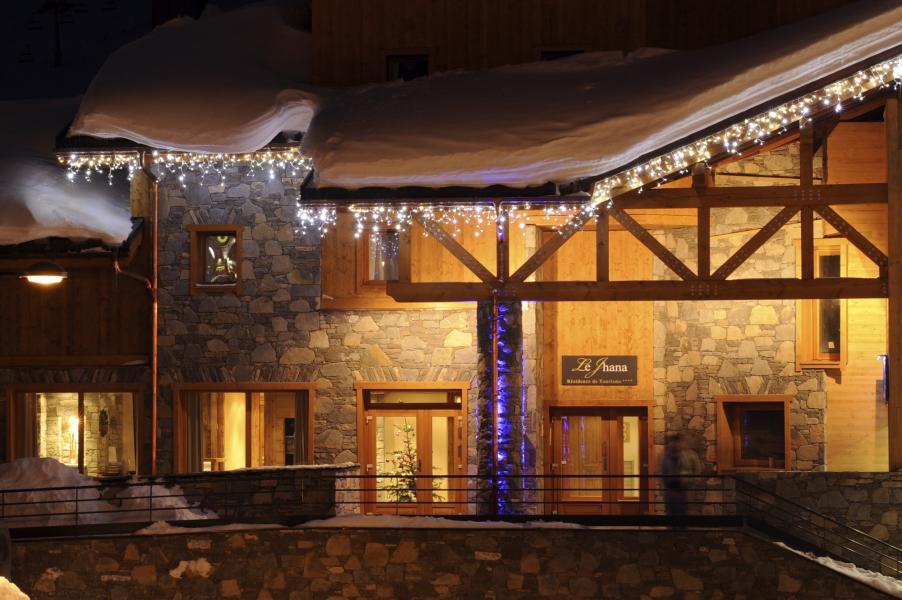 Location au ski Résidence le Jhana - Tignes - Extérieur hiver