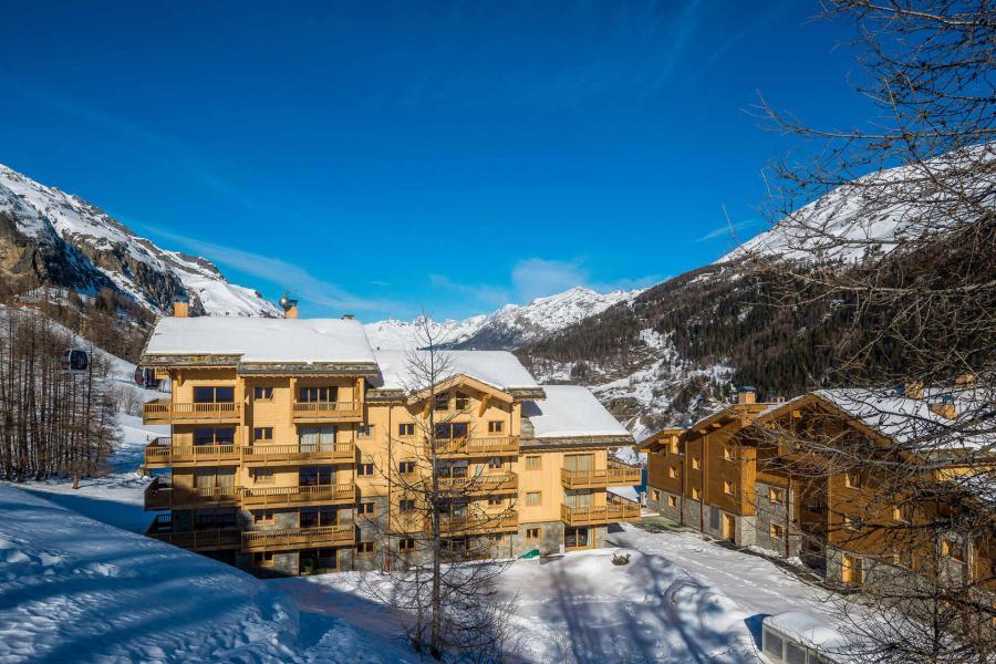 Location au ski Résidence le Lodge des Neiges C - Tignes - Extérieur hiver