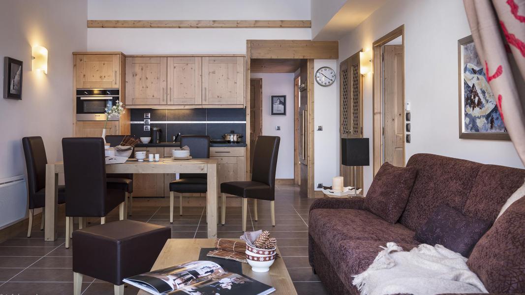 Location au ski Résidence le Lodge des Neiges - Tignes - Kitchenette