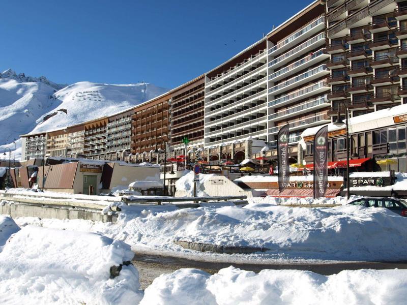 Location au ski Résidence le Palafour - Tignes - Extérieur hiver