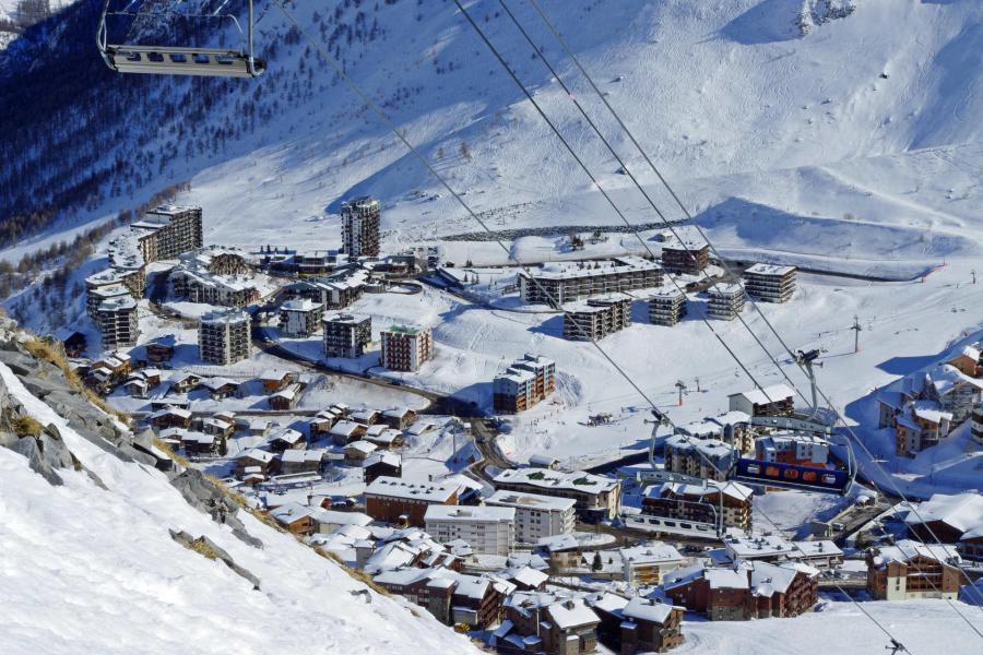 Wakacje w górach Résidence le Pontet B - Tignes - Zima na zewnątrz