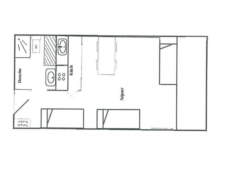 Location au ski Studio 4 personnes (029) - Résidence le Pramecou - Tignes