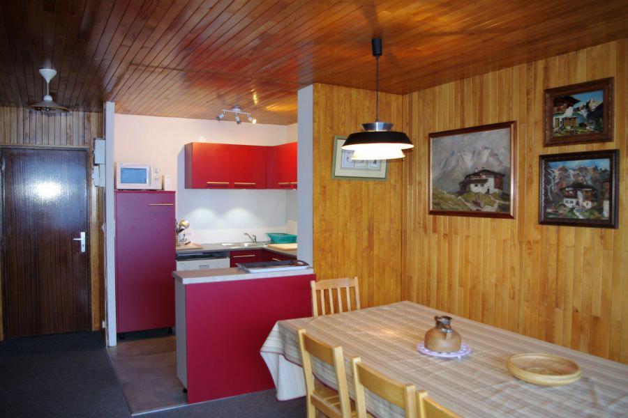 Skiverleih 3 Zimmer Maisonettewohnung für 8 Personen (A7CL) - Résidence le Prémou - Tignes - Tisch
