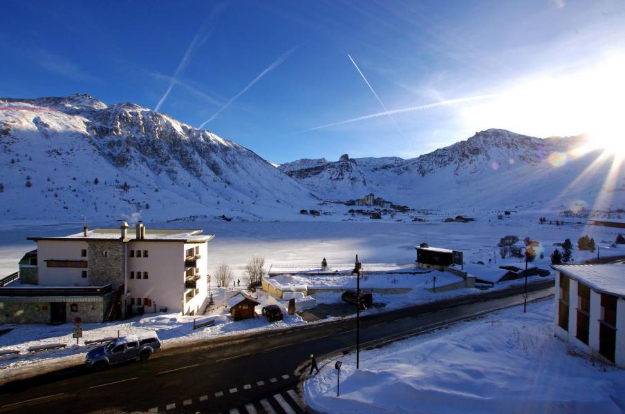 Skiverleih Résidence le Prémou - Tignes - Draußen im Winter