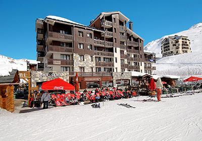 Location au ski Residence Le Rond Point Des Pistes - Tignes - Extérieur hiver