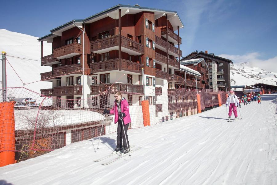 Location au ski Résidence le Rond Point des Pistes - Tignes - Extérieur hiver