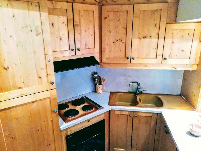 Skiverleih 2-Zimmer-Appartment für 4 Personen (103) - Résidence le Rosset - Tignes - Küche