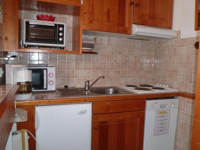 Location au ski Appartement 2 pièces 4 personnes (004) - Résidence le Savoy - Tignes - Kitchenette