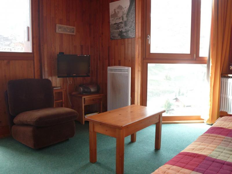 Location au ski Appartement 2 pièces 4 personnes (004) - Résidence le Savoy - Tignes - Table basse