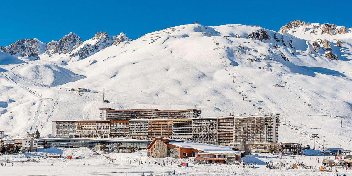 Wakacje w górach Résidence le Soleil - Tignes - Zima na zewnątrz