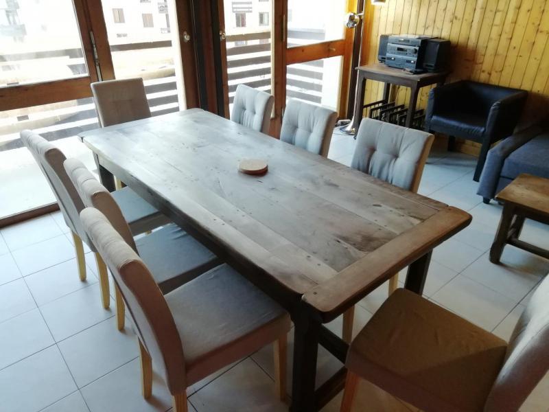 Location au ski Appartement 2 pièces 6 personnes (63) - Résidence le Super Tignes - Tignes - Table