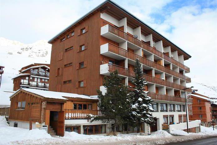 Location au ski Résidence Les Chaudes Almes - Tignes - Extérieur hiver