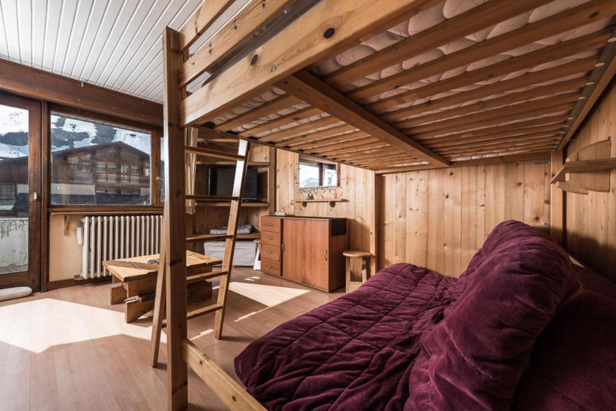 Location au ski Studio 4 personnes (TETRAS) - Résidence Les Chaudes Almes - Tignes
