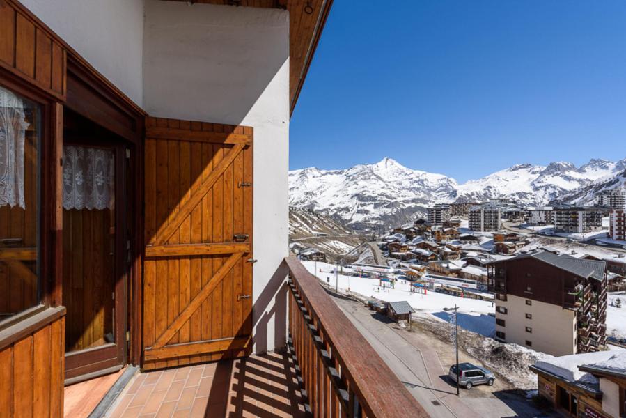 Location au ski Studio mezzanine 4 personnes (SAPIN) - Résidence Les Chaudes Almes - Tignes - Extérieur hiver