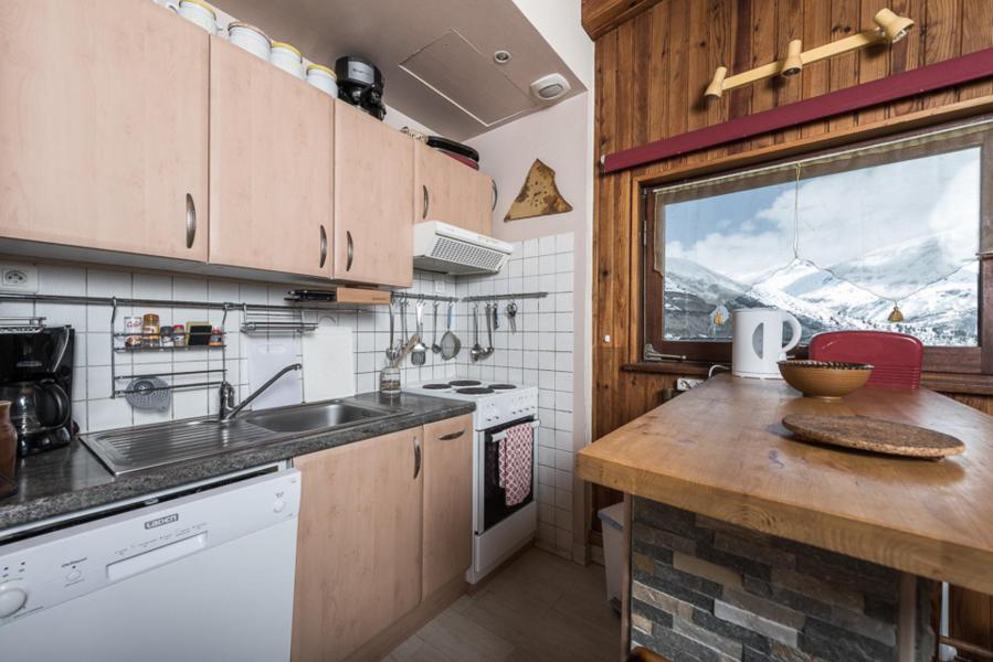 Location au ski Appartement 2 pièces coin montagne 6 personnes (TUYA) - Résidence Les Chaudes Almes - Tignes - Cuisine