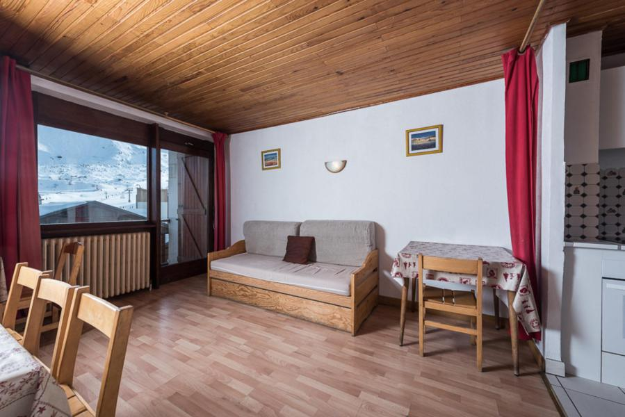 Location au ski Appartement 3 pièces 8 personnes (CHENE) - Résidence Les Chaudes Almes - Tignes - Séjour