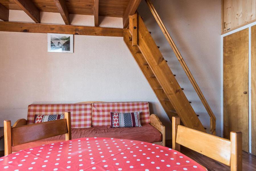 Location au ski Studio mezzanine 4 personnes (SAPIN) - Résidence Les Chaudes Almes - Tignes - Séjour