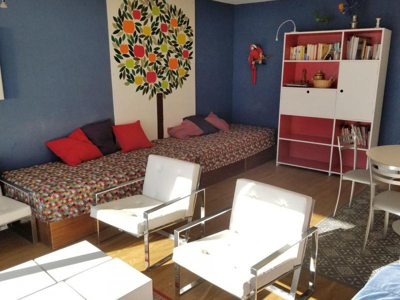 Skiverleih 2-Zimmer-Berghütte für 7 Personen - Résidence les Ducs de Savoie - Tignes - Wohnzimmer