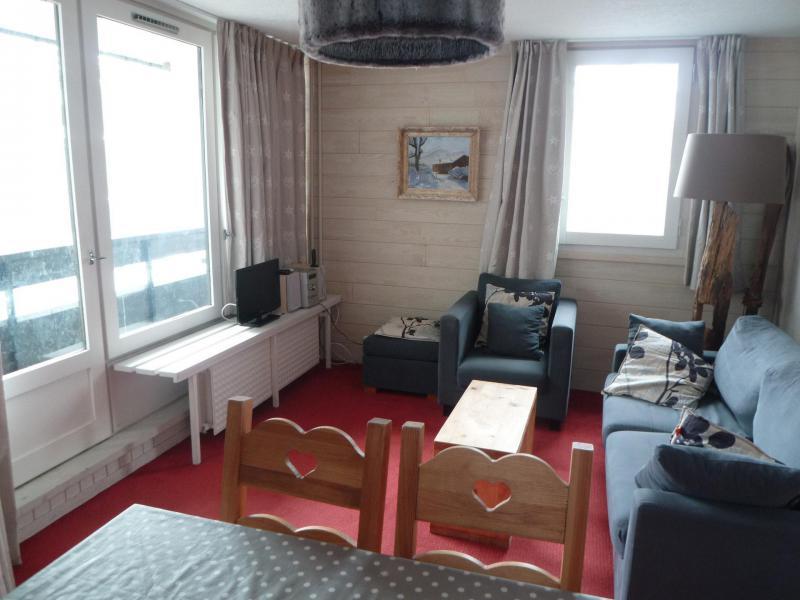 Location au ski Appartement 4 pièces 6 personnes - Résidence les Grandes Platières II - Tignes - Séjour