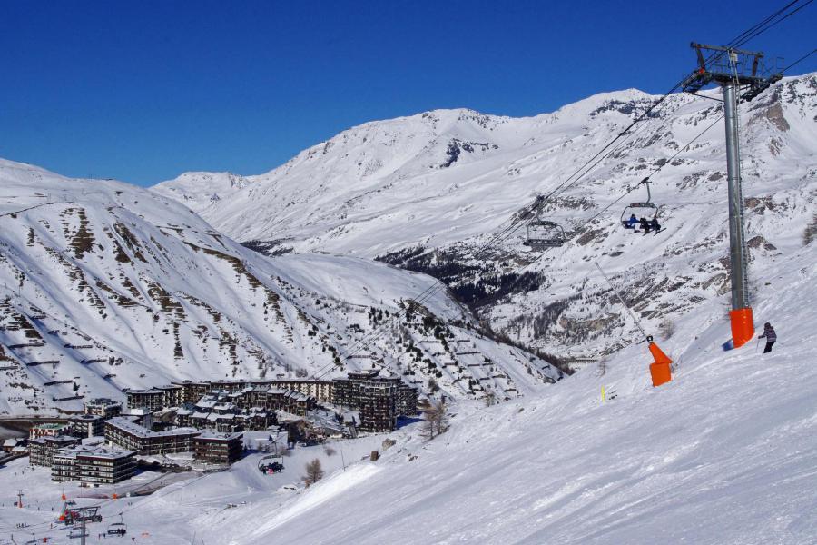 Wakacje w górach Résidence les Roches Rouges A - Tignes - Zima na zewnątrz