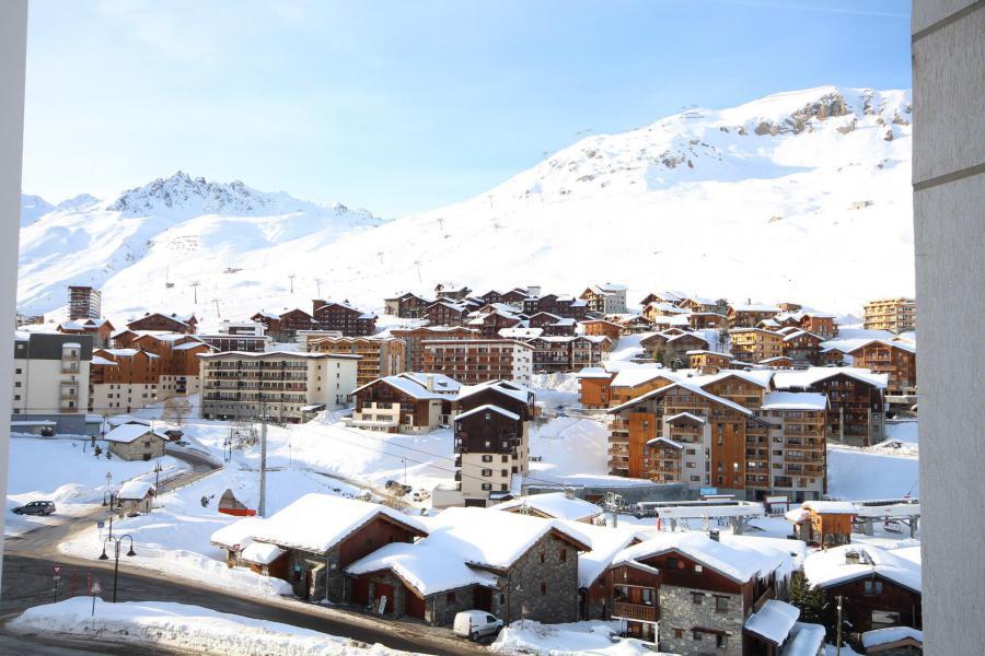 Wakacje w górach Apartament 2 pokojowy 4 osób (13R) - Résidence les Trolles - Tignes - Zima na zewnątrz