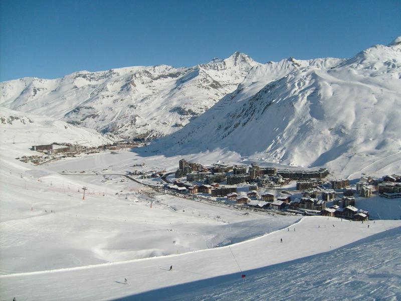 Location au ski Résidence Les Tufs - Tignes - Extérieur hiver