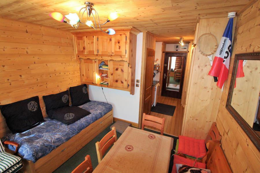 Location au ski Studio 2 personnes (A2CL) - Résidence Les Tufs - Tignes - Banquette-lit
