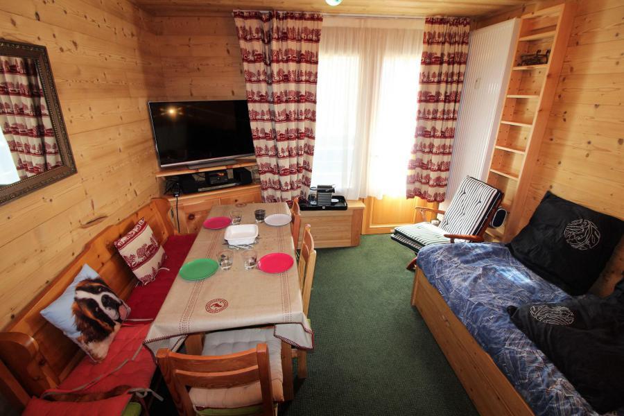 Location au ski Studio 2 personnes (A2CL) - Résidence Les Tufs - Tignes - Banquette-lit tiroir