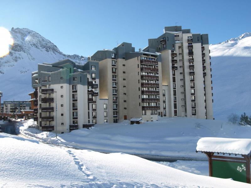 Location au ski Residence Moutieres B - Tignes - Extérieur hiver