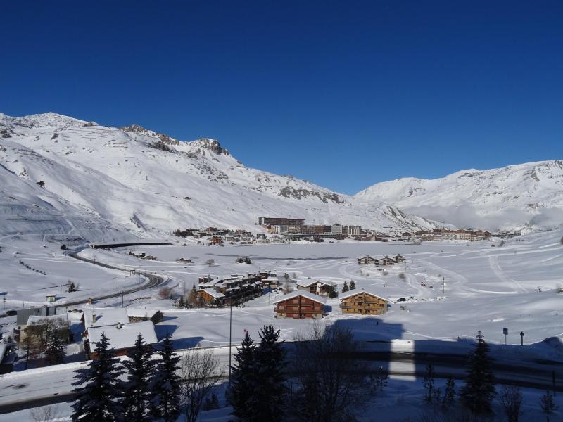 Location au ski Appartement 2 pièces 5 personnes (33) - Residence Moutieres B - Tignes - Extérieur hiver