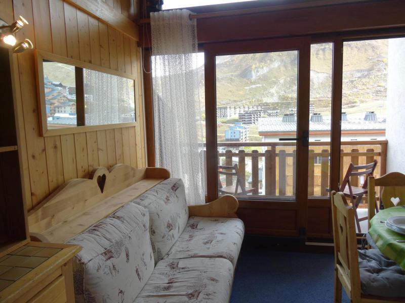 Location au ski Studio mezzanine 5 personnes - Résidence Nouvelles Résidences - Tignes - Séjour