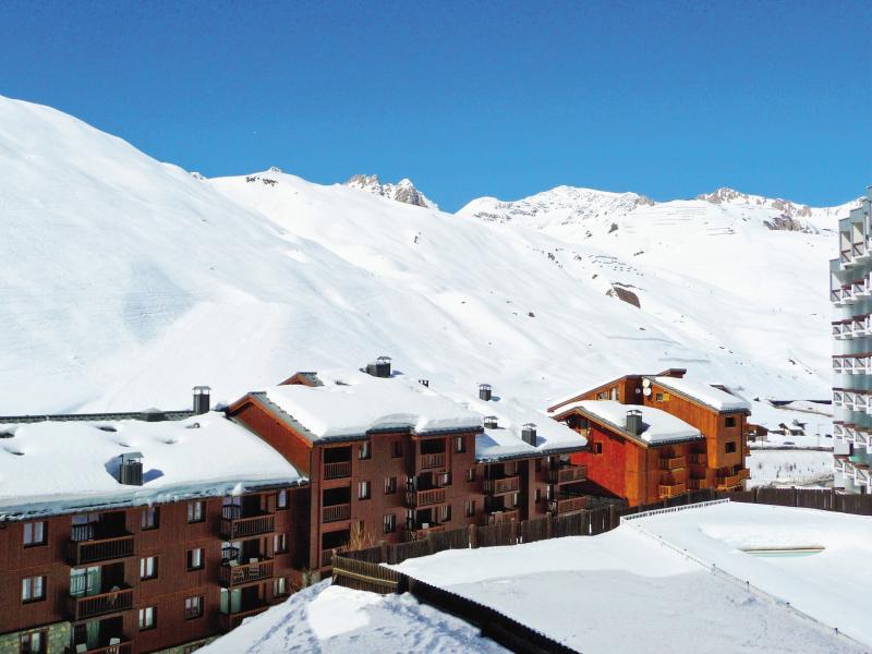 Vakantie in de bergen Résidence P&V Premium l'Ecrin des Neiges - Tignes - Buiten winter