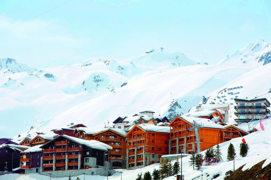 Location au ski Residence P&v Premium L'ecrin Des Neiges - Tignes - Extérieur hiver