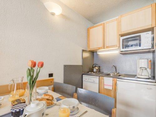 Location au ski Résidence Pierre & Vacances Inter-Résidences - Tignes - Cuisine ouverte