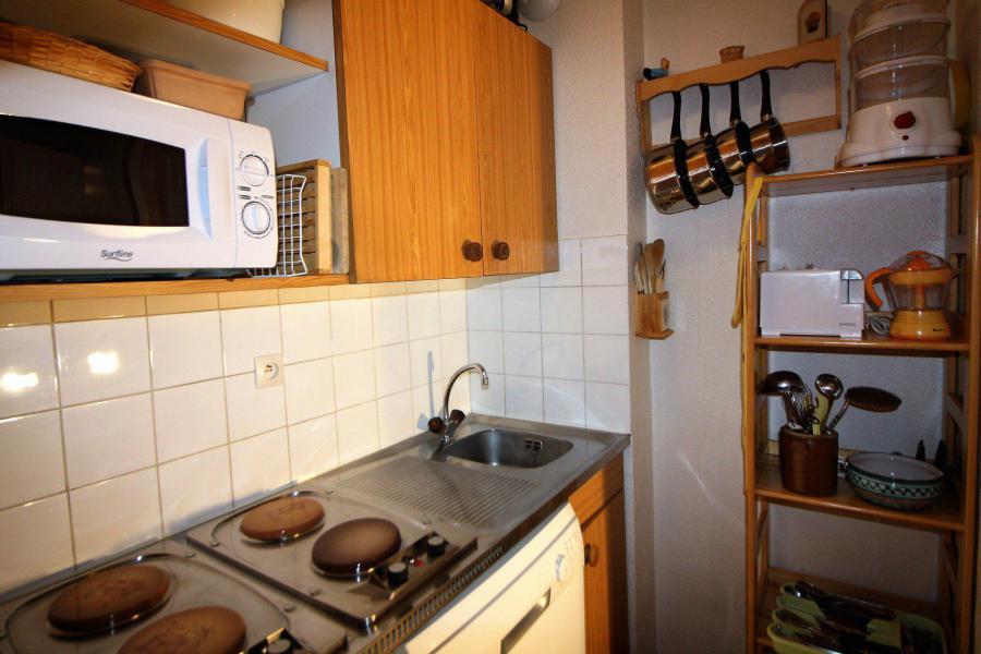 Skiverleih Studio Kabine für 4 Personen (106CL) - Résidence Rond Point des Pistes - Tignes - Kochnische