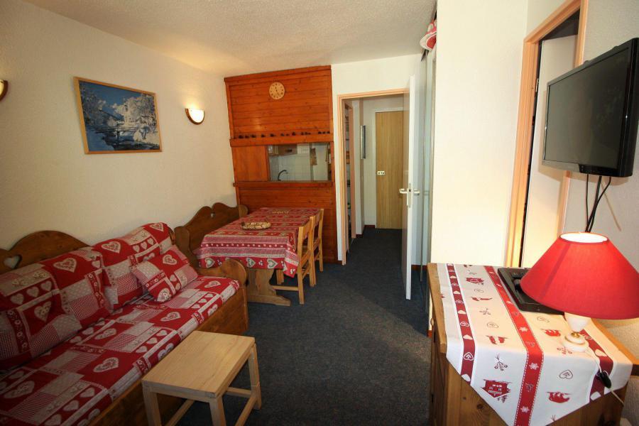 Skiverleih Studio Kabine für 4 Personen (106CL) - Résidence Rond Point des Pistes - Tignes - Wohnzimmer