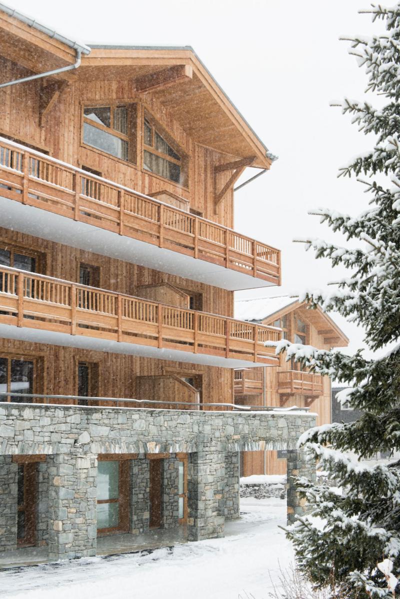 Vacances en montagne Résidence Santa Terra - Tignes - Extérieur hiver
