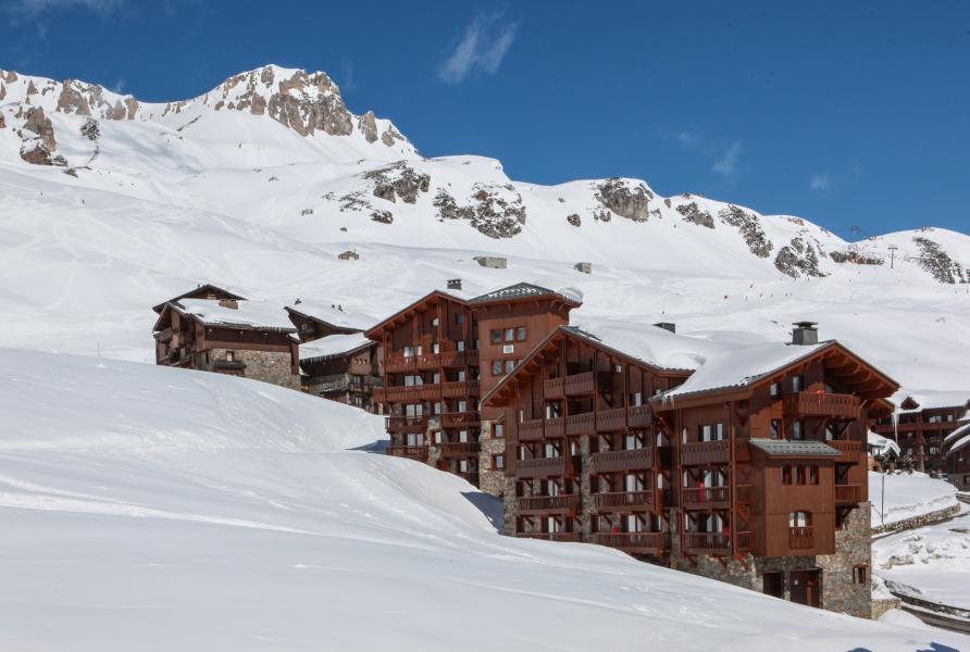 Location au ski Résidences Village Montana - Tignes - Extérieur hiver